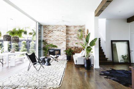 Exotische luxe tuin met moderne veranda inrichting huis