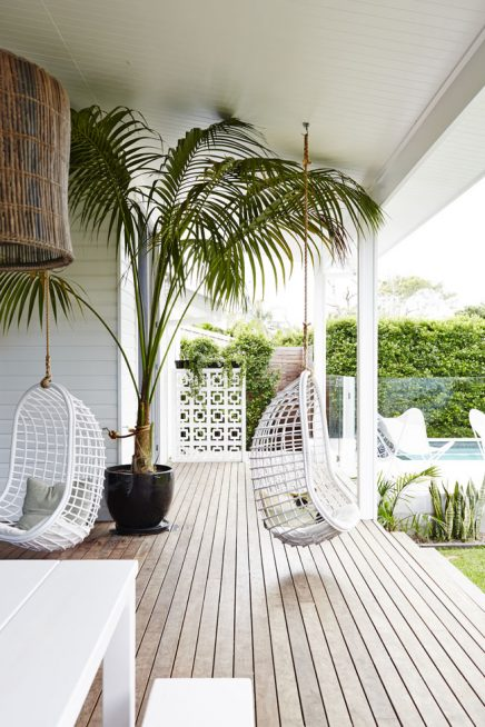 Bekend Exotische luxe tuin met moderne veranda | Inrichting-huis.com #JC25