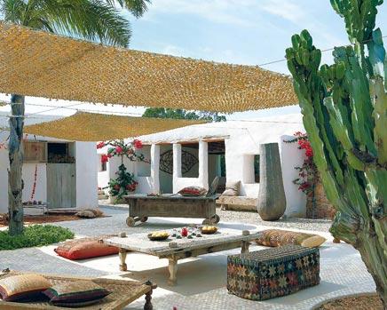 Exotische tuin Formentera