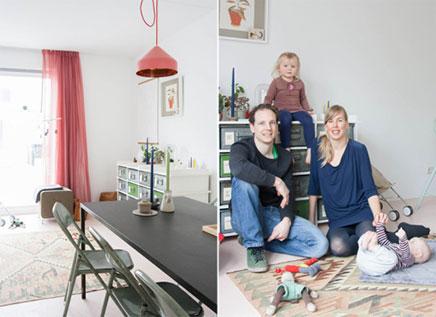 Familiehuis van Designduo Tineke & Nathan