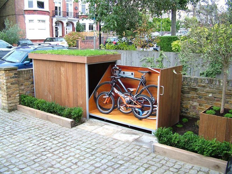 fietsenstalling sedumdak