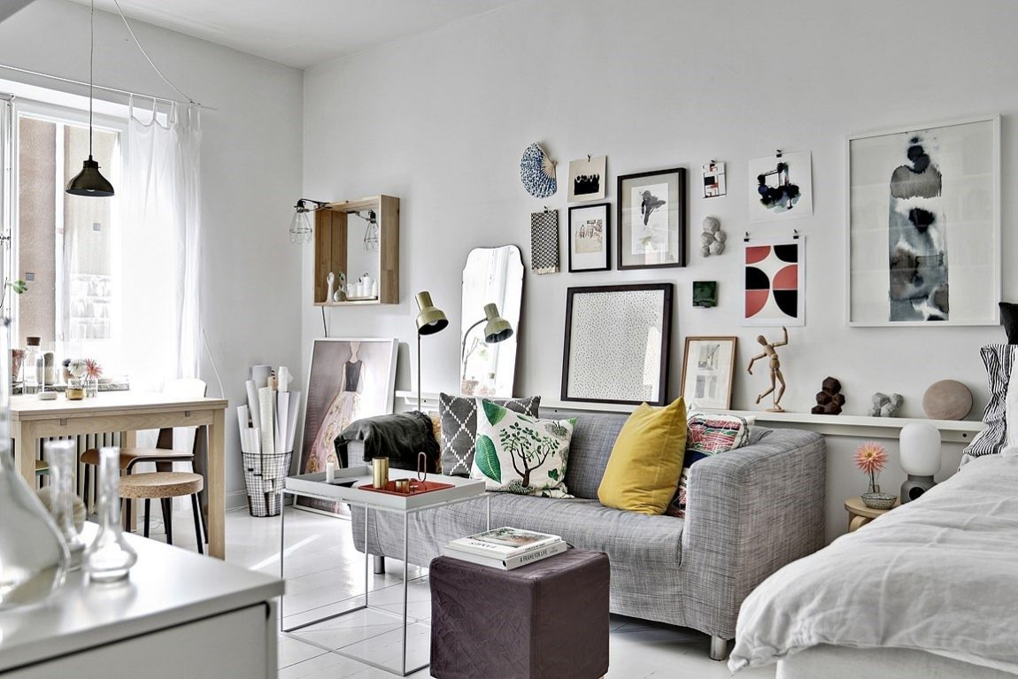 Fijn klein wonen in een appartement van 28m2 inrichting for 30m2 wohnung einrichten