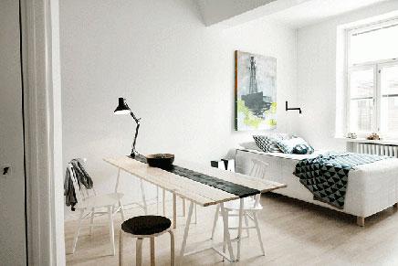 Fins appartement met Scandinavisch design