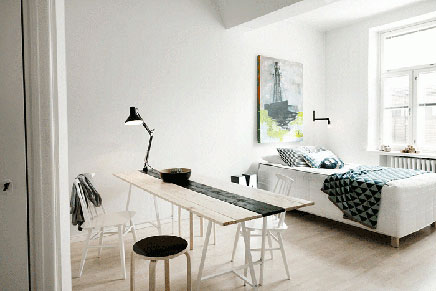 Fins appartement met Scandinavisch design