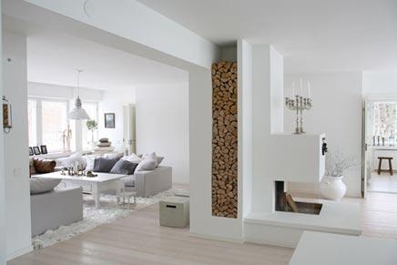 Finse serene woonkamer