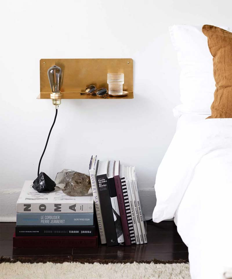 Frama 90 degrees shelf wandlamp