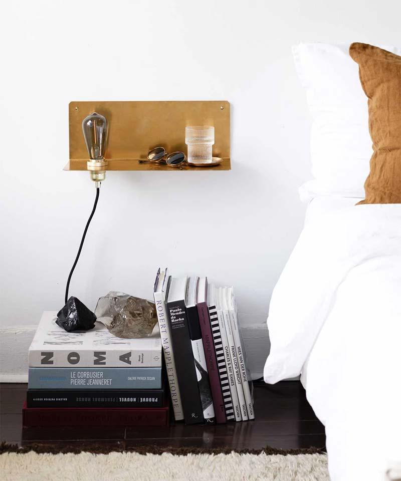 Frama 90 degrees shelf wandlamp
