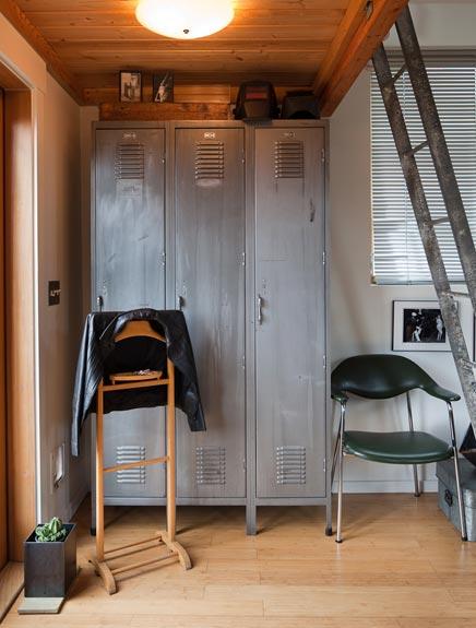 Van oude garage tot volledig functionerende leefruimte