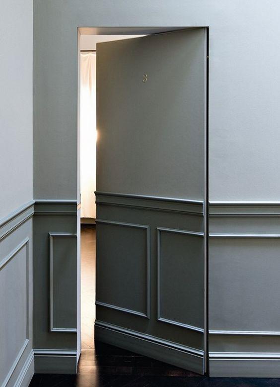 Geheime deuren in huis!