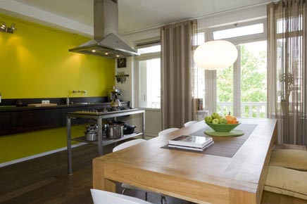 ... : Gerenoveerd dubbele bovenwoning in Amsterdam  Inrichting-huis.com