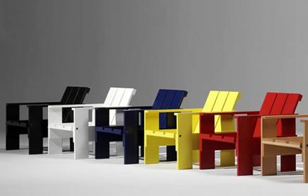 Gerrit Rietveld Kratstoel : Gerrit rietveld kratstoel inrichting huis
