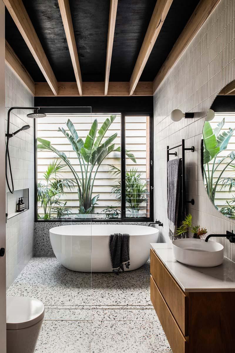 geur voor in huis badkamer raam