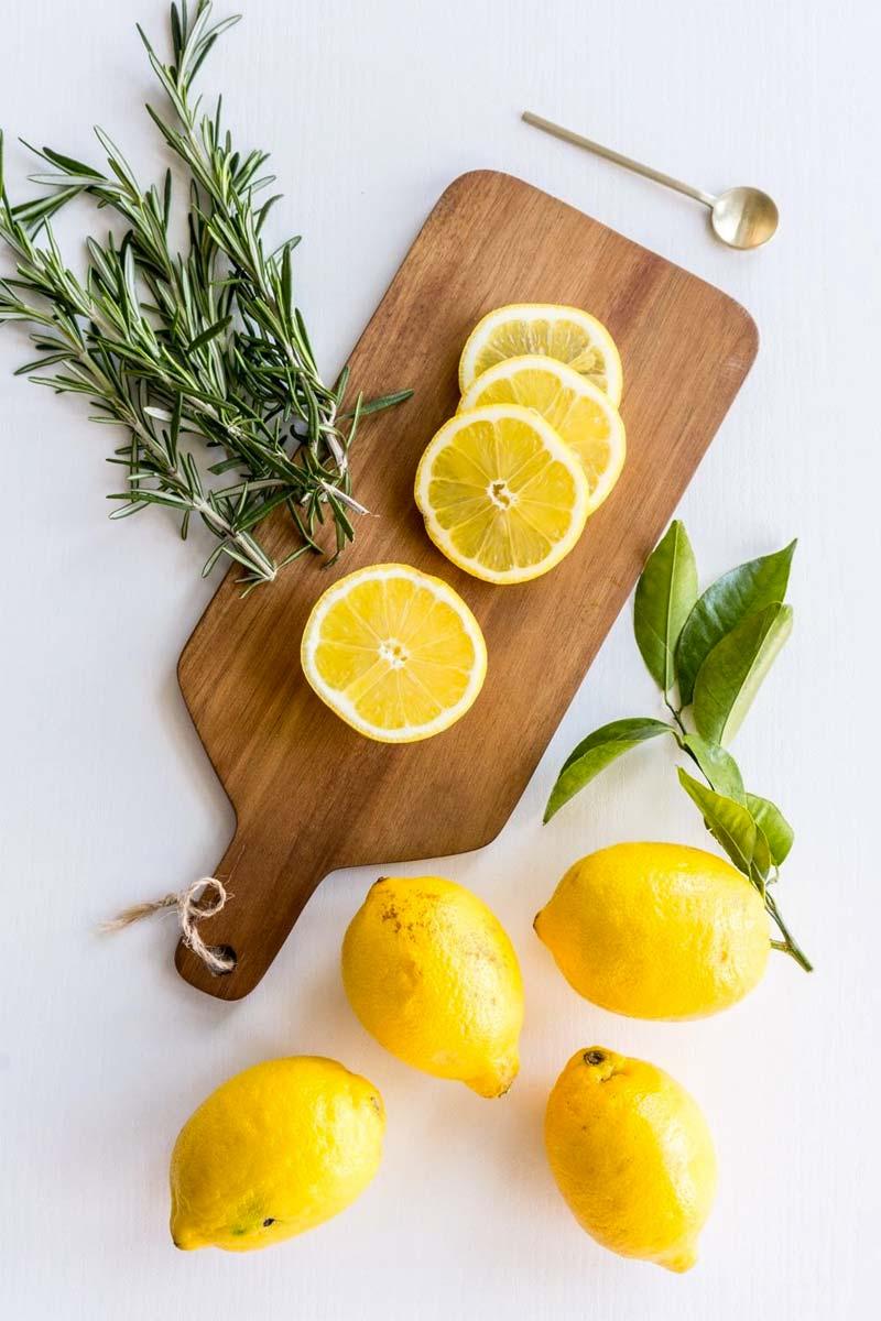 geur voor in huis citroen