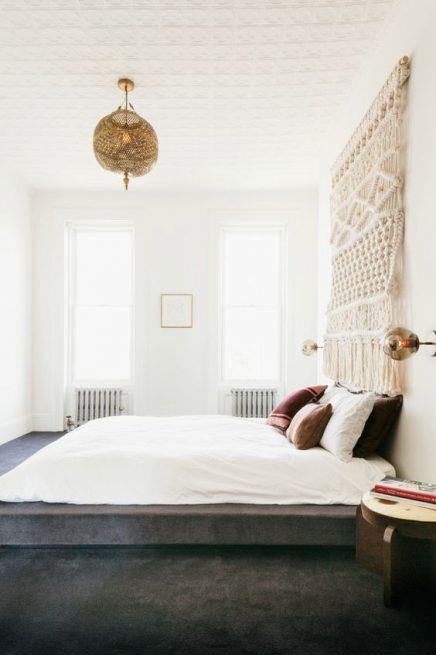 geweven wandkleden inrichting. Black Bedroom Furniture Sets. Home Design Ideas