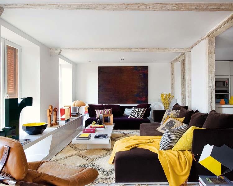 Gezellige en sfeervolle woonkamer | Inrichting-huis.com