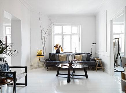 Gezellig ingerichte woonkamer | Inrichting-huis.com