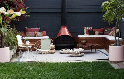 Gezellige lounge tuin van Sarah