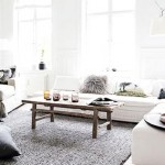 Cozy interior design of Danish designer Hanne Berzant