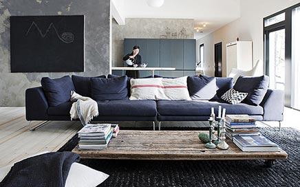 Gezellige woonkamer van ontwerpster Ulla Koskinen | Inrichting-huis.com