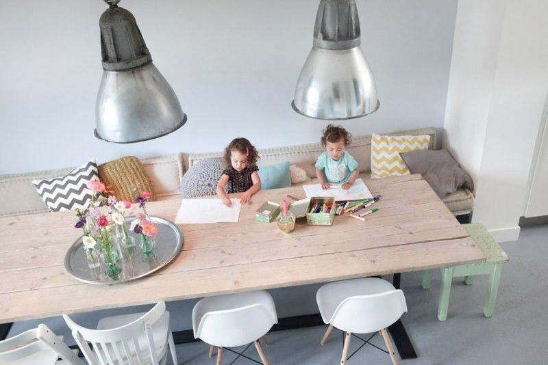 eetkamertafel met bank en stoelen  consenza for ., Meubels Ideeën