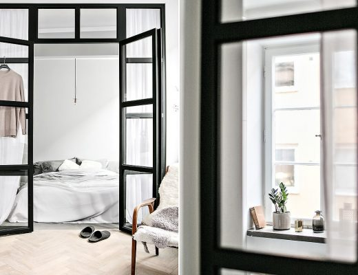 glazen-wand-en-stalen-kozijnen-slaapkamer-en-woonkamer-klein-appartement-45m2