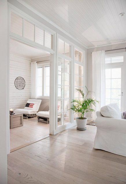 Glazen wand in huis  Inrichting-huis.com