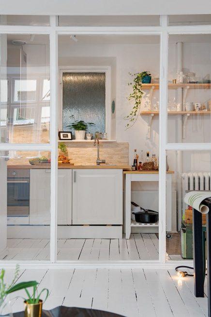 Glazen wand in huis | Inrichting-huis.com
