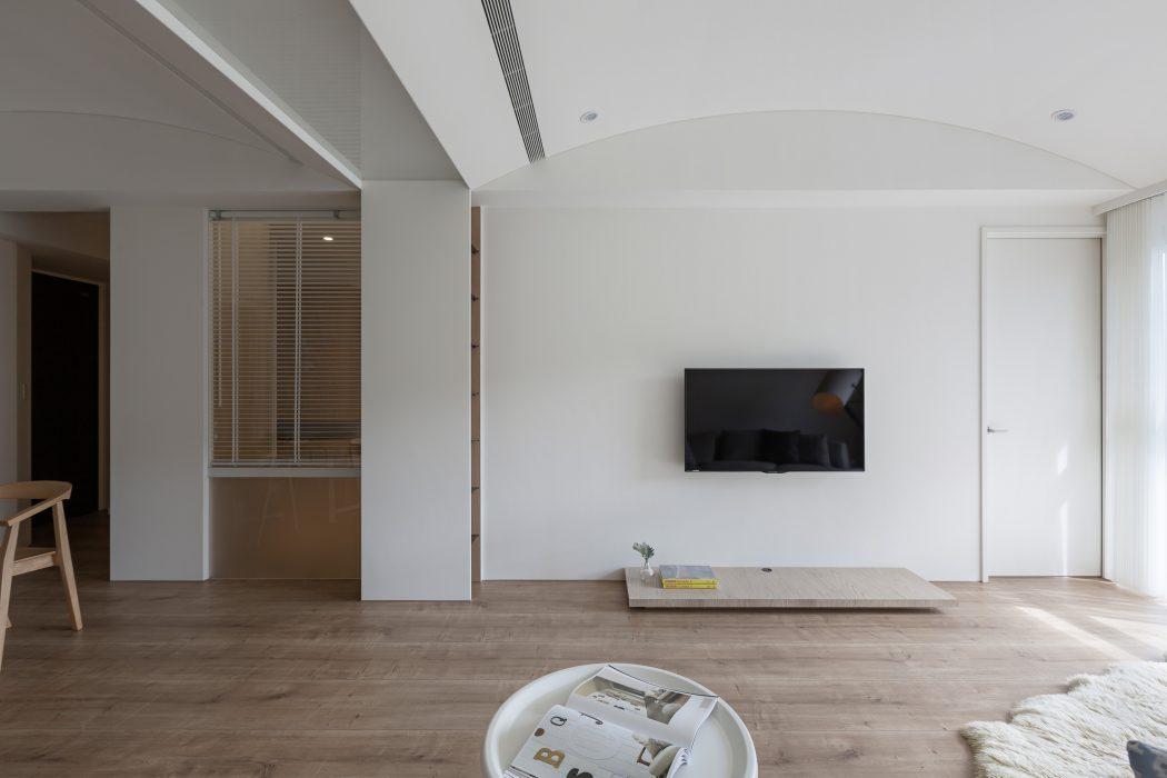 Klein thuiskantoortje in een modern appartement | Inrichting-huis.com