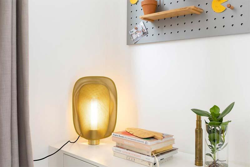 gouden tafellamp mai zuiver