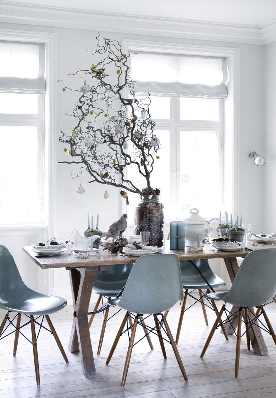 Gijs blauwe eetkamerstoelen denim drift