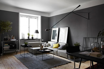 Gray living room inrichting - Inrichting woonkamer ...