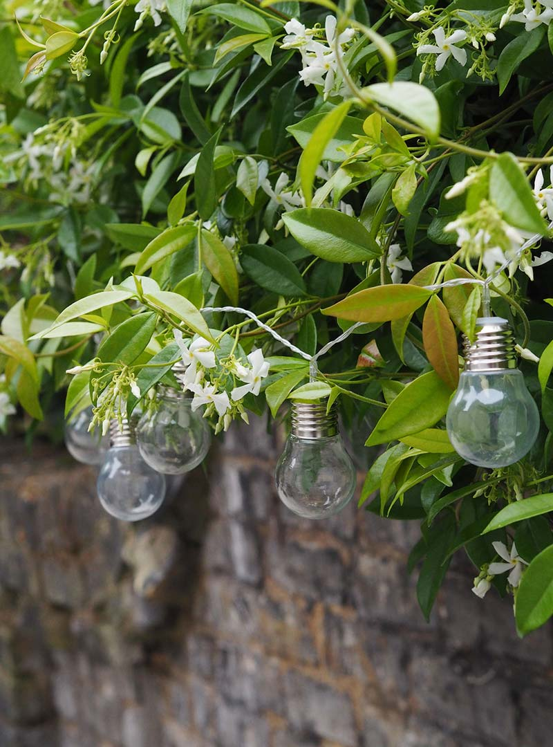 Grind tuin slingerverlichting