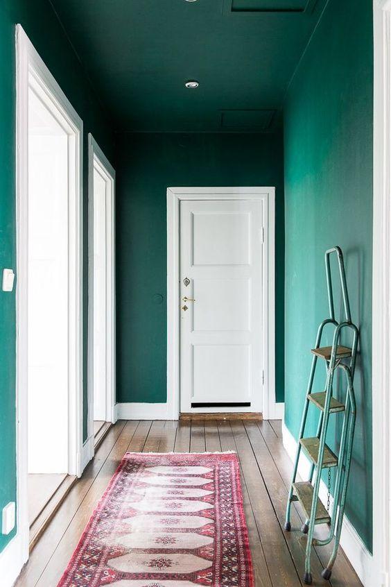 groen-plafond-hal