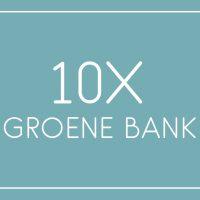 10x Groene bank