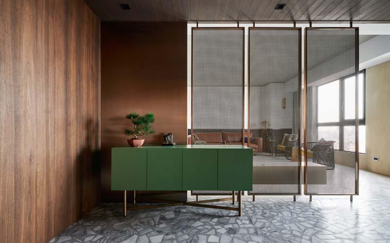groene dressoir