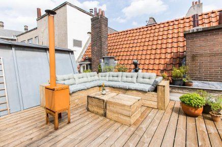 Groot dakterras van 30m2 in Amsterdam