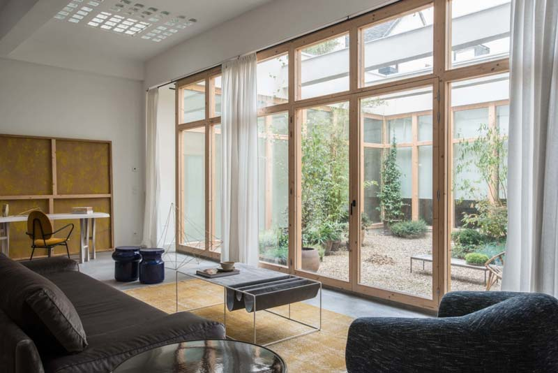 grote glazen ramen deuren woonkamer