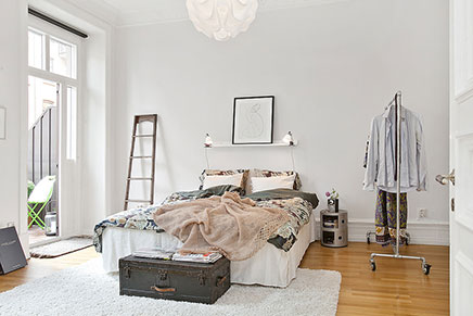 Inrichting Grote Slaapkamer : Grote ideale slaapkamer uit zweden inrichting huis