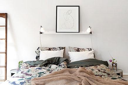 Grote ideale slaapkamer uit Zweden