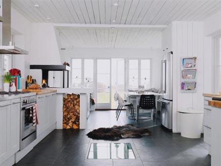 Grote keuken van Hakan & Katalin