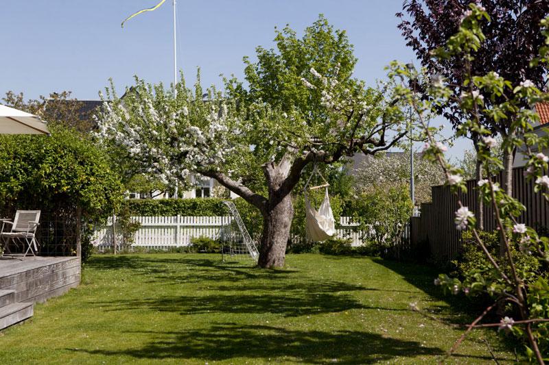 Grote landelijke tuin uit Zweden