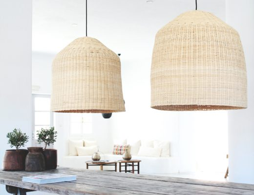 Grote mand hanglamp