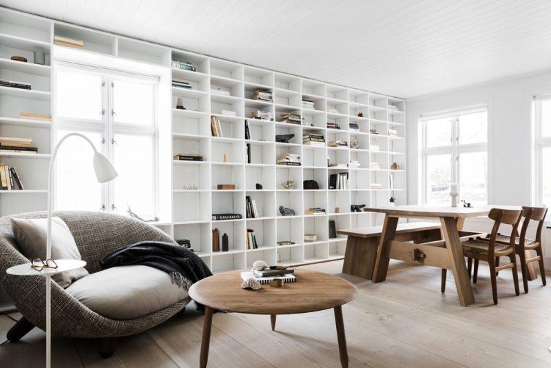 grote op maat gemaakte boekenkast