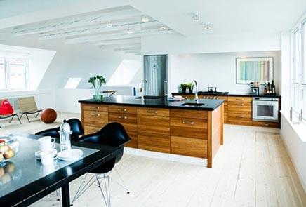 Open Keuken Inspiratie : Grote open keuken uit delen inrichting huis