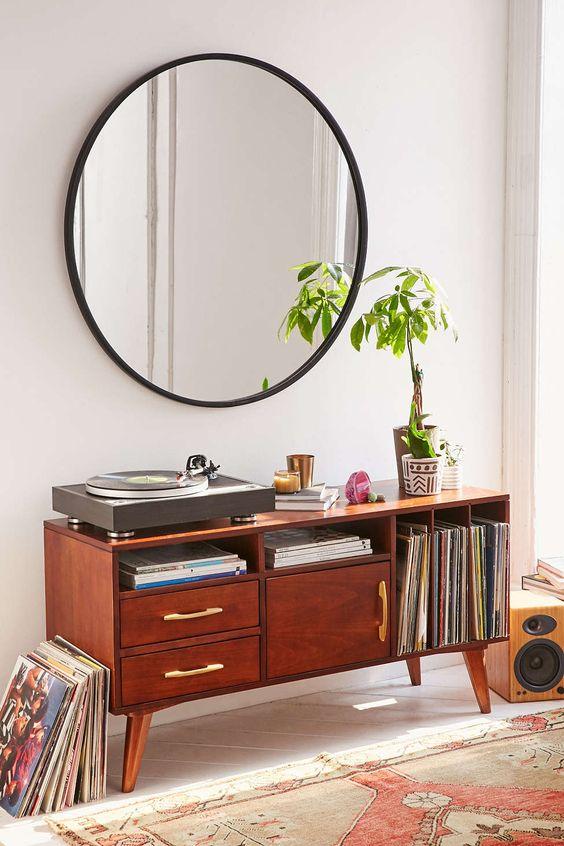 grote-ronde-spiegel-stalen-rand