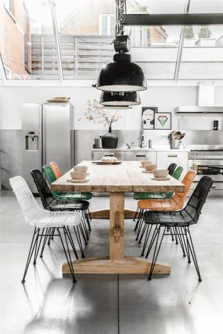 Grote serre keuken