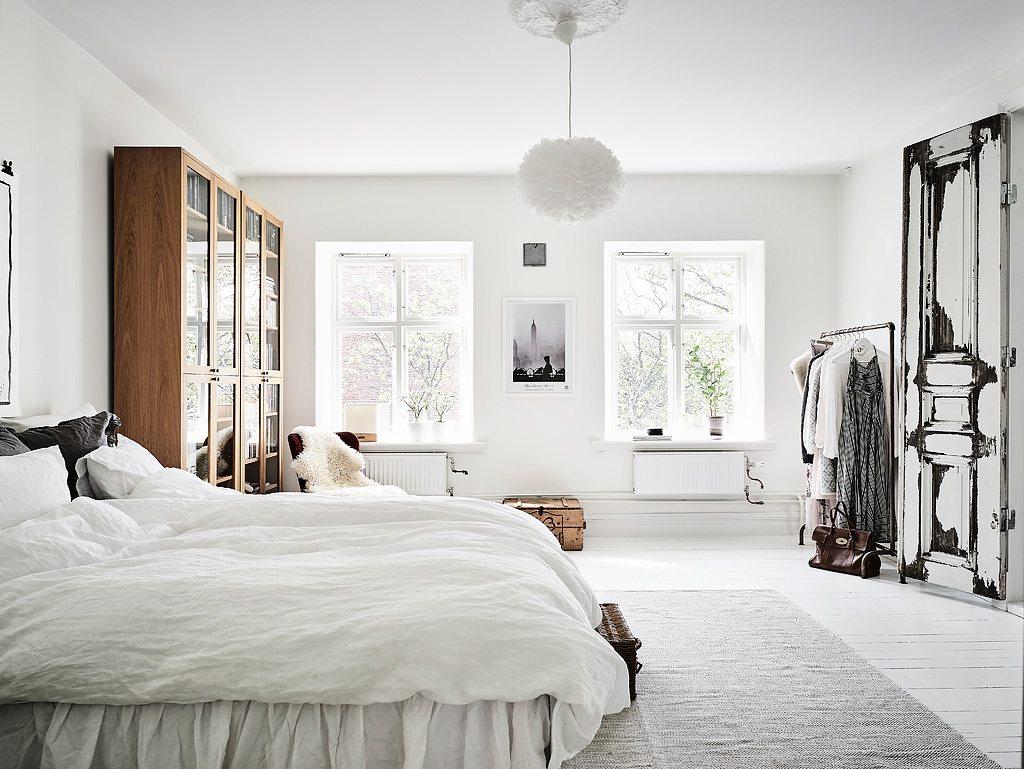 Inrichting Grote Slaapkamer : Grote lichte slaapkamer met leeshoek inrichting huis