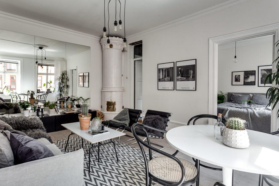 grote spiegelwand inrichting. Black Bedroom Furniture Sets. Home Design Ideas