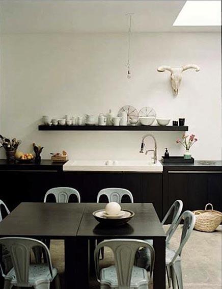 Zwarte Keuken Loft