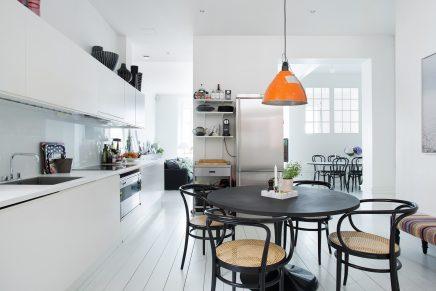 Licht en ruim scandinavisch appartement met loft sfeer ...